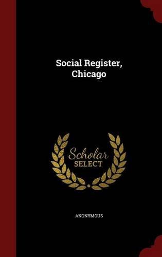 Read Online Social Register, Chicago ebook