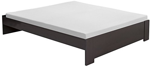 South Shore Gloria Platform Bed, Queen 60-Inch, Chocolate
