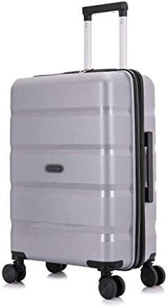 """BXDYA 荷物、旅行のためのトラベルバッグトロリースーツケースのスピナーホイール軽量かつ耐久性のある荷物で22"""" 拡張キャリー (Color : C)"""
