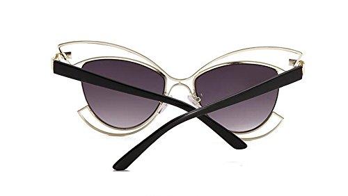 retro cercle métallique soleil rond style vintage inspirées lunettes du Gris Gradient polarisées en Lennon de Y1CwfCxqp