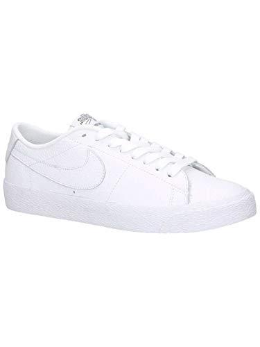 Herringbone Blazer Nike (NIKE Men's SB Zoom Blazer Low NBA, White/White-Rush Blue, 10 M US)