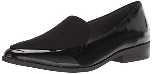 Dr. Scholl's Shoes Women's Astaire Loafer, Black Patent, 9 M US
