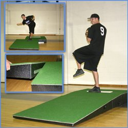 Mound Pitching (OB Team Sports Professional 2-pc Mound with Turf)