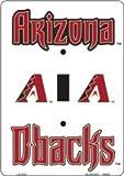 AZ Arizona Diamondbacks Light Switch Covers (single) Plates LS10021