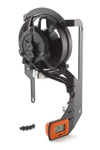 (Genuine KTM Radiator Cooling Digital Fan Kit 250 300 350 400 450 500 78135941244)