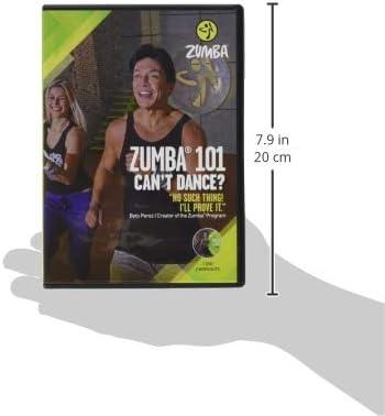 """Zumba 101 Dance Fitness for Beginners Workout DVD Original Version, .5x5.25x7.5"""" .25 LBS"""
