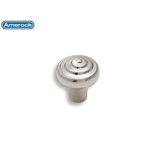 Amerock Divinity 1-1/4 in (32 mm) Diameter Sterling Nickel Cabinet Knob