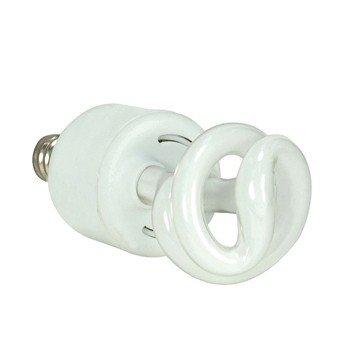 (Pack of 6) Satco S7264, 5-Watt Candelabra Base T2 Mini Spiral, 2700K, 120V, Equivalent to 30-Watt Incandescent Lamp for Enclosed Fixtures, Compact Fluorescent Bulb
