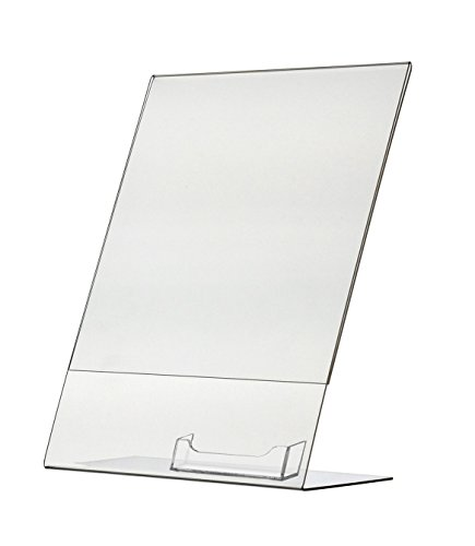 Marketing Holders Premium Sign Frame Counter Ad Display Stand Deluxe Literature Holder Wholesale 8.5