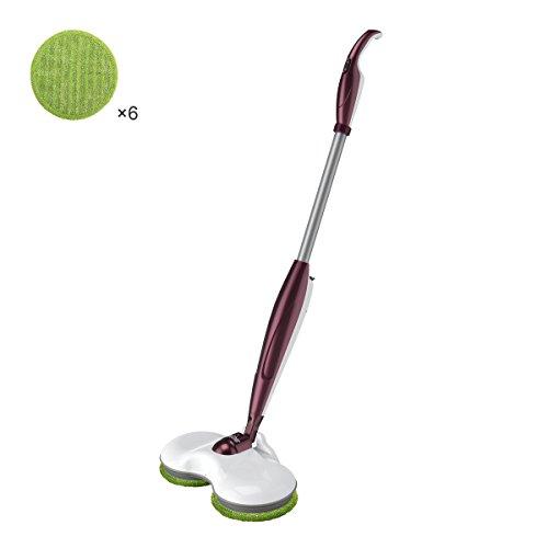 Electric Spin Floor Mop, Cordless Rechargeable Floor Cleaner