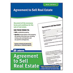 Adams(R) Agreement to Sell Real (Agreement To Sell Real Estate)