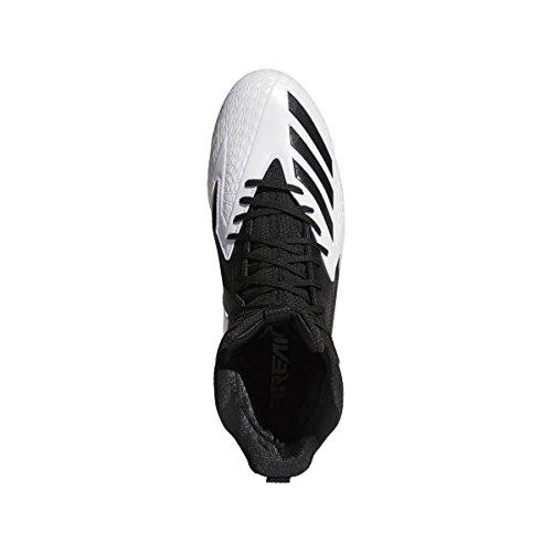 Adidas Buitenissig Hoog Brede Lijst Mens Voetbal Wit-core Zwart