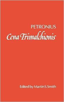 Book Cena Trimalchionis by Petronius (1983-03-24)