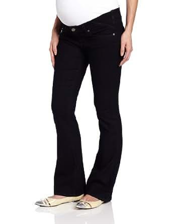 PAIGE Women's Maternity Petite Skyline Boot Leg Jean,Twilight,25