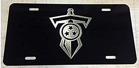 Amazon com: Tennessee Titans T Sword Logo Inspired Laser