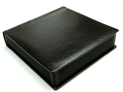 Professional 10x10 All Black Wedding Album 50 Pages