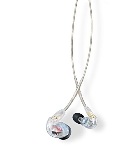 Shure SE425-CL Sound Isolating Earphones with Dual High Definition MicroDrivers (In Monitors Ear Shure)