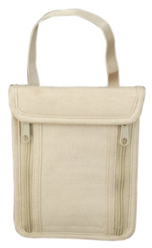 Travelon Neck Pouch, Tan, One Size