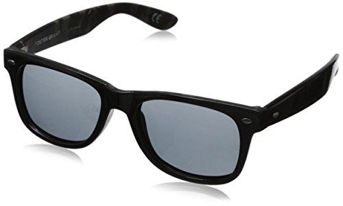 Foster Grant Men's Cape Aviator Sunglasses, Black, 52 - Sunglasses Camo Wholesale