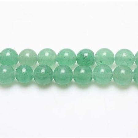 Charming Beads Filo 45 Verde Avventurina 8mm Tondo Perline GS1628-3