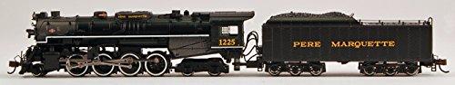 Bachmann Industries Pere Marquette N Scale 2-8-4 Berkshire Steam Locomotive & (N Scale Steam Locomotives)