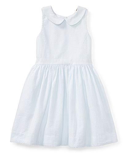 Ralph Lauren Polo Girls Seersucker Party Dress (6)