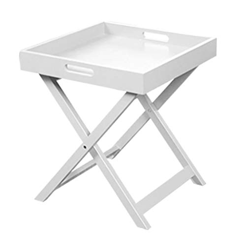 PENGJIE End Table Folding Table Portable Camping Side Tables Top: Hard-Topped in a Bag for Picnic, Camp, Beach, Boat, Useful for Dining & Cooking with Burner, Easy to Clean Coffee Table
