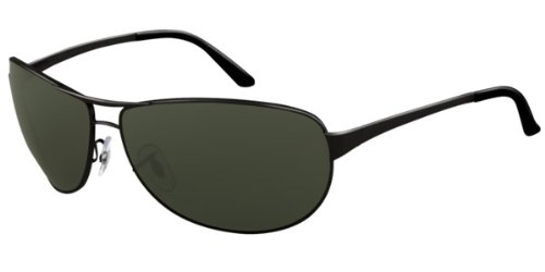 3de187a41b Amazon.com: Ray-Ban RB 3342 (006/4I) MATTE BLACK w/ CRYSTAL BROWN PHOTO  lens 60mm 12mm: Shoes