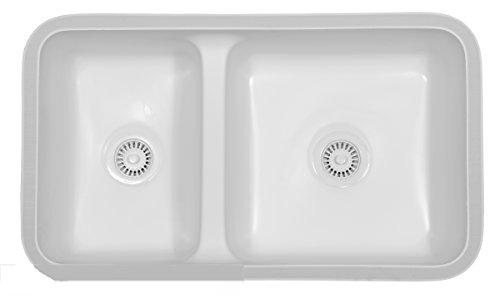 Karran Undermount Acrylic Sinks : Kingston