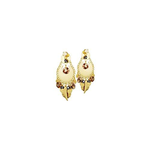 Boucles d'oreilles CLIPS N°202 GRI-GRIS - Reminiscence