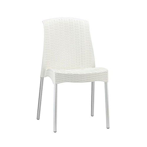 Idea Sillas Bar 6, sillas Polipropileno Trenzado con Patas ...