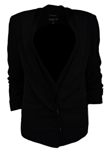- Jones New York Women's Double Layer Soft Jacket, Black, 6