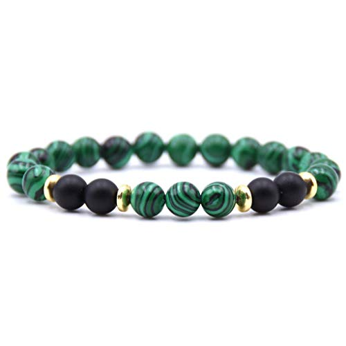 Stylish Tiger eye diy charm Multicolor Natural Stone Beads charm Bracelet For Women men Yoga Bangles(Light Yellow Color)