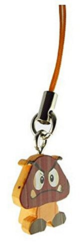 Price comparison product image Super Mario 3D Land Icon Danglers Approx.75 inch Keychain Fig- Goomba
