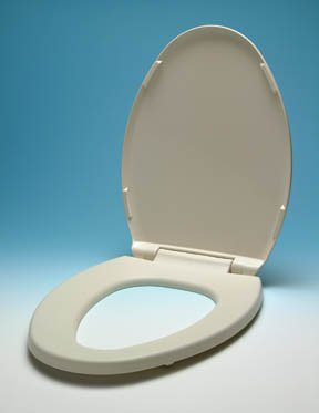 Ultratouch Heated Toilet Seat - Almond - Elongated Bowl