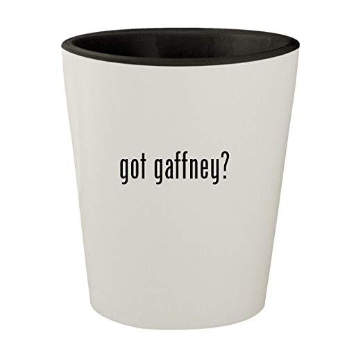 got gaffney? - White Outer & Black Inner Ceramic 1.5oz Shot Glass