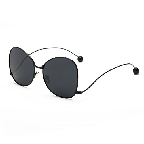 Premium Fashion Butterfly Stytle Classic Retro Sun Glasses for Womens and - Rimless Costco Glasses