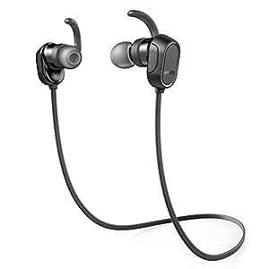 Anker Soundbuds Sport Bluetooth In-Ear Earbuds, Black
