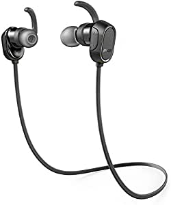 Anker Soundbuds Sport Bluetooth In-Ear Earbuds, Black