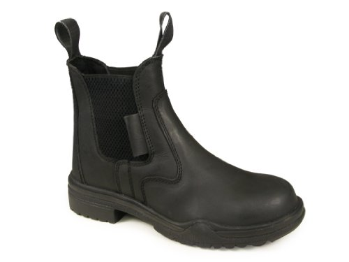 Jodphur Sizes New Steel Boots Horse 8 Equestrian Black Showing Toe Leather UK Riding Jodhpur Dressage Real All BqBxUr6Pw4