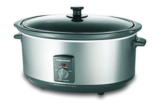 Morphy Richards - 6.5L Silver Slowcooker