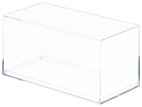 Clear Acrylic Display Case (With No Beveled Edge) For 1:32 Scale Cars - 7.1875