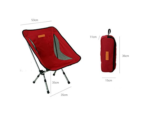 Trekology Compact Portable Camping Chair with Adjustable Height - Ultralight Backpacking Chair in a Bag for Camping, Fishing, Picnic, Patio, Sports, Events (Quest Sport Dome Canopy compare prices)