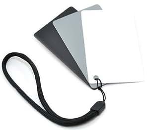Kaavie GC-2  Set de Tarjetas 3-en-1, blanco, negro y gris, paquete de 3