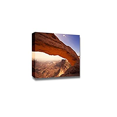 Amazing Print, That's 100% USA Made, Beautiful Scenery Landscape a View of Mesa Arch Wall Decor