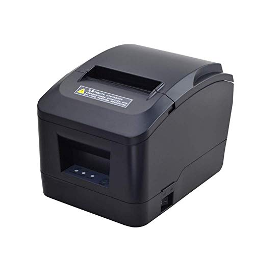 MUNBYN USB 3'1/8 80mm Thermal Receipt Printer, Pos Printer with Auto Cutter ESC/POS Command Support Windows Mac Pos System (Renewed)