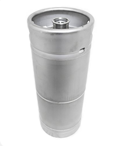 1/6 BBL (5.16 U.S. Gallon) American Made Stainless Steel Commercial Sixtel Keg