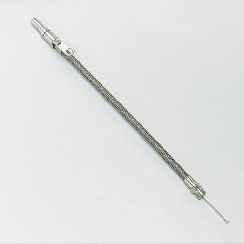 Milodon 22040 Stainless Steel Oil Pan Dipstick for Ford 302/351W/429/460 ()