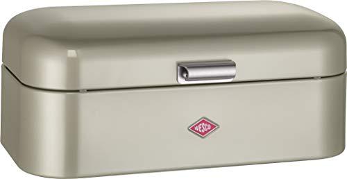 Wesco Grandy - German Designed - Steel bread box for kitchen / storage container, -
