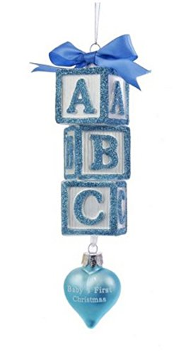 Baby Block Ornament - 4